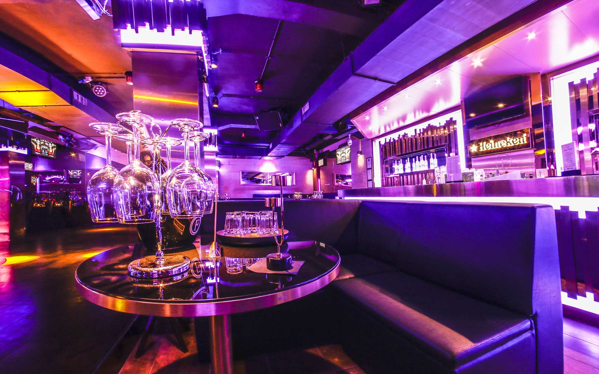 Table and Bar Gold Room Priveè