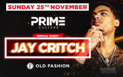JAY CRITCH special Guest at Sunday 25 November